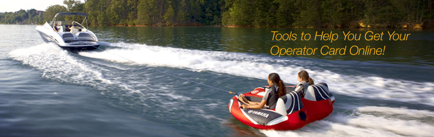 Get Your boat operator card Online!